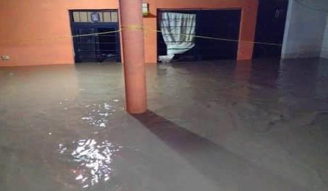 Viviendas bajo el agua... del barrio del Carmen