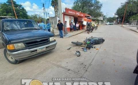 Motociclista grave tras ser arrollado
