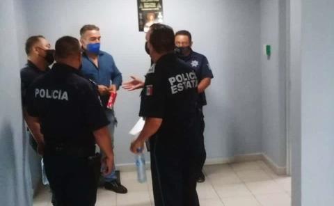 Sostienen reunión  los jefes policiacos