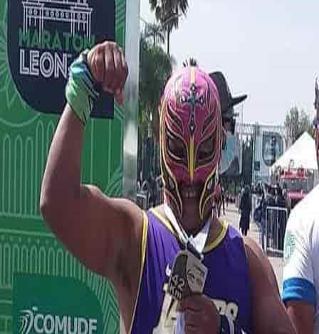 """""""El Rudo Man"""" un personaje en las carreras atléticas"""