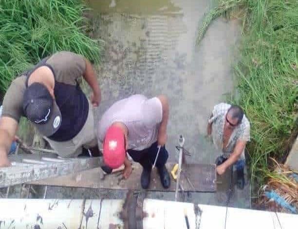 Daños en la red de agua potable