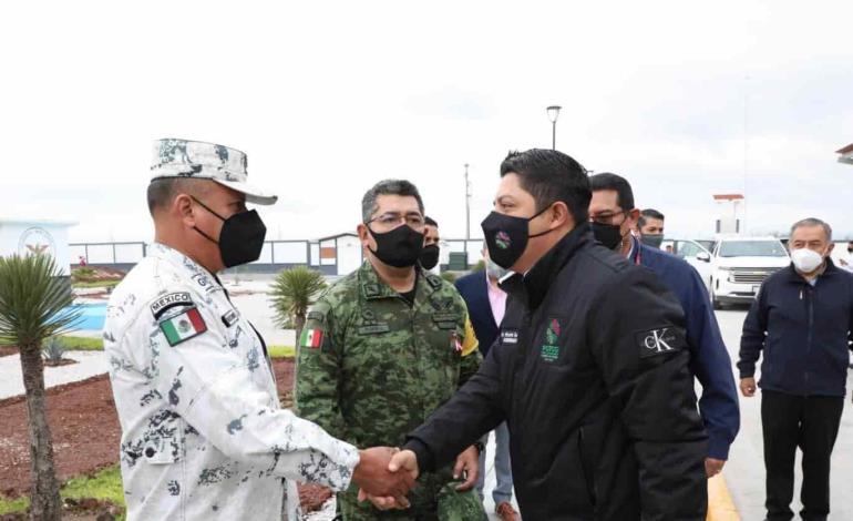 Anuncia Gallardo unidad Élite de seguridad tipo Swat en SLP