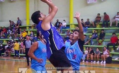 Los Huracanes contra Olvera en basquetbol