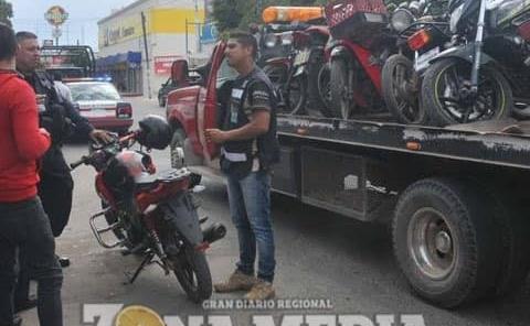 Incautaron vehículos en operativo policial