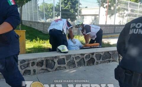 TRABAJADOR SUFRIÓ CAÍDA