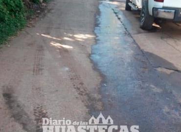 Alcaldía no atendió fuga de aguas negras