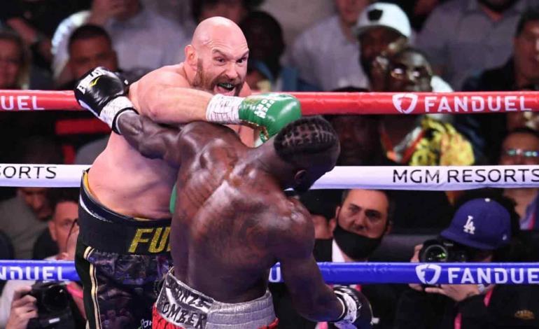 Fury derrotó a Wilder