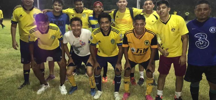 Futbol 7 del Parque Milenio programó doble jornada
