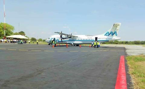 Son 454 MDP del aeropuerto