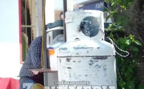 Riesgo de fugas de gas en loncherías