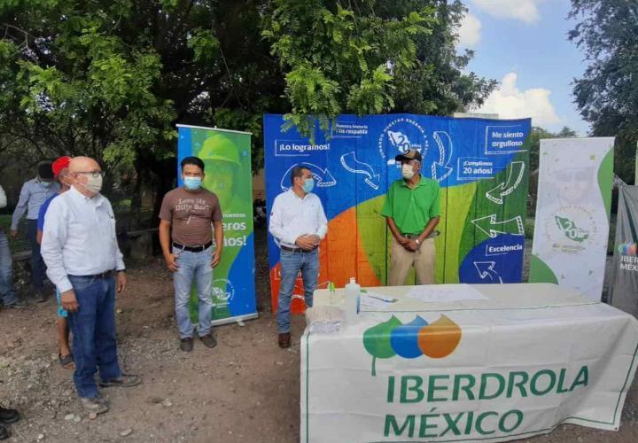 Beneficiará IBERDROLA a Huasteca Sur; en Los Bordones San Martín