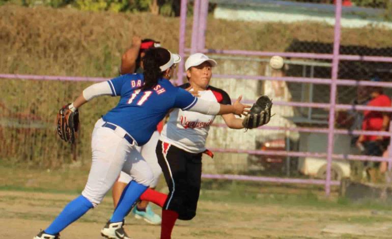 Llega la 12ª Fecha al Softbol Femenil