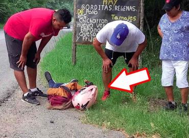 Termina joven mujer atropellada en La Pitahaya