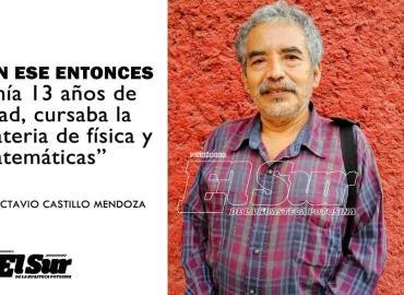 Octavio Castillo... el sobreviviente de la matanza en Tlatelolco
