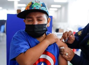 Comienza la vacunación a menores