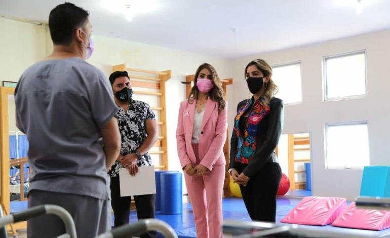 Dif Estatal fortalecerá unidades básicas de rehabilitación de los 58 municipios