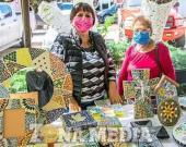 Gustan las artesanías de mosaico veneciano