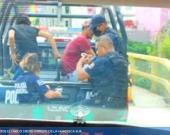 Ramón N y Esteban N remitidos al bote por pelear en plena calle de San Rafael